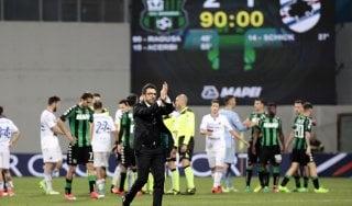 """Sassuolo, Di Francesco: """"Preso un gol assurdo, ma bravi a rimontare"""""""