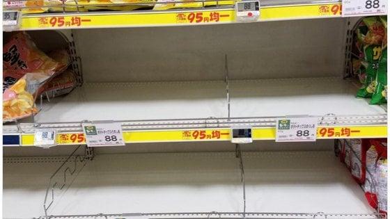 Aiuto, mancano le patatine e il Giappone va in tilt per lo snack più amato