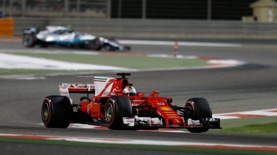 F1, Gp Bahrain: il trionfo della Ferrari, vince Vettel