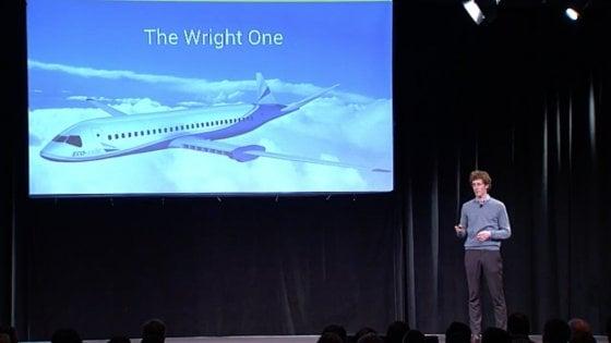 ''Entro 10 anni si volerà a batterie''. Il sogno di Wright One, diventare aereo elettrico di linea