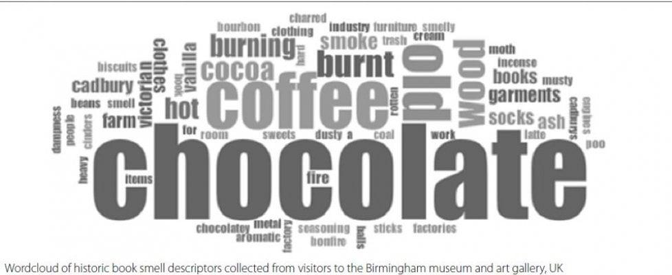 Cioccolato e caffè: il profumo dei libri antichi
