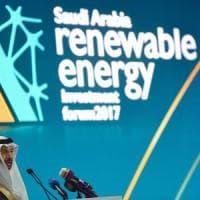 L'Arabia Saudita punta alle rinnovabili: entro 2023 il 10% dell'energia sarà 'pulita'