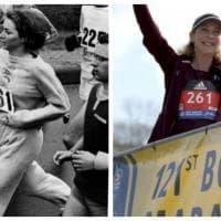 """Boston, Kathrine la """"rivoluzionaria"""" di nuovo in corsa: ritorno alla maratona dopo 50 anni"""