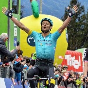 Ciclismo, Tour delle Alpi: la prima è di Scarponi