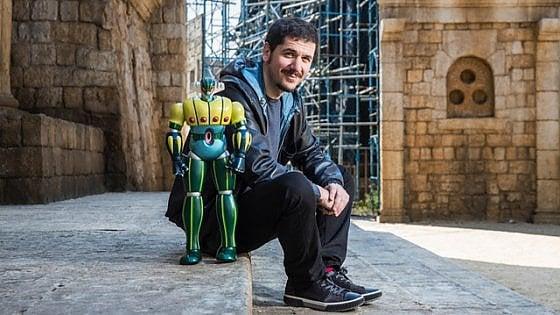 Jeeg Robot a Cinecittà. Cronaca di una giornata particolare