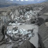 Il cambiamento climatico ''ruba'' un fiume in Canada
