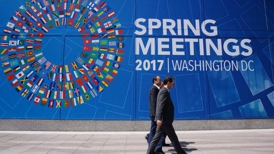 Clima rovente al Fmi: muro contro il protezionismo di Trump-Le Pen
