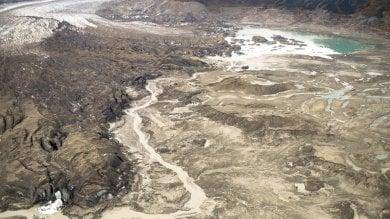 Il cambiamento climatico ''ruba''  un fiume in Canada -   Le immagini