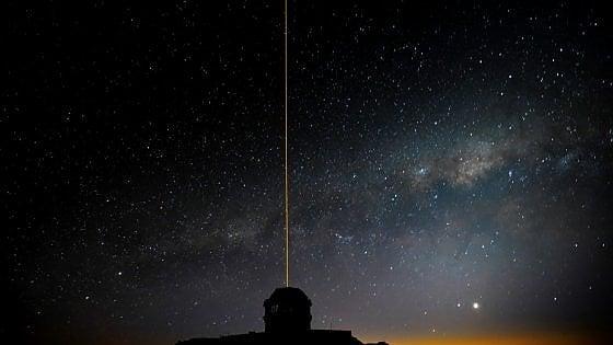 A caccia di laser tra le stelle per captare ET