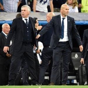"Real Madrid, Zidane: ""Qualificazione meritata"". Ancelotti: ""Quasi perfetti, arbitro decisivo"""