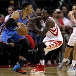 Basket, play-off Nba: Golden State non sbaglia, Westbrook non basta a Oklahoma