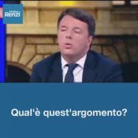 Tre errori in un minuto: le sviste ortografiche del video di Matteo Renzi su Twitter