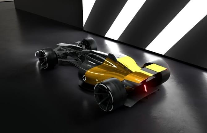 La F1 del futuro? Ecco la Vision Renault