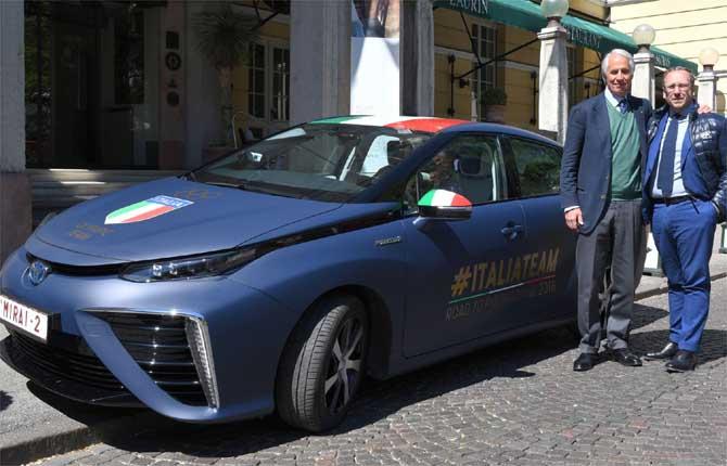 Toyota Italia rafforza il legame con il Coni