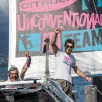 Malingri padre e figlio, è record sull'Atlantico