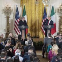 Trump-Gentiloni, tanta cortesia di rito e poca sostanza