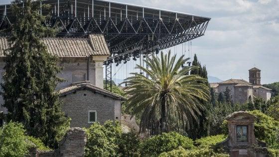 """Il kolossal su Nerone divide Roma: """"No al maxi palco sui Fori imperiali"""""""