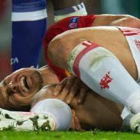 Paura per Ibrahimovic: si teme rottura del crociato