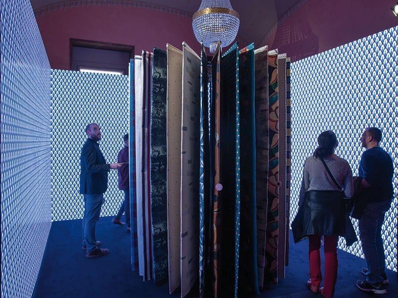 Una stanza dell'Elle Decor Concept Store a Palazzo Bovara, Milano, ph Stefano Pavesi