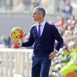 """Fiorentina, Sousa: """"Buttati molti punti, con l'Inter bisogna tornare a vincere"""""""
