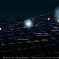 La supernova che si fa in quattro