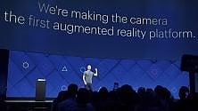 Realtà aumentata, indizi su test a Cupertino