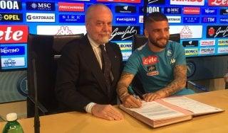 Napoli, Insigne firma il rinnovo: ''Ora un trofeo importante''