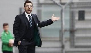 """Sassuolo, Di Francesco: """"Nostro bilancio da migliorare, Napoli fa il miglior calcio"""""""