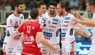 Volley, Superlega: Trento domina Perugia, è in finale con la Lube