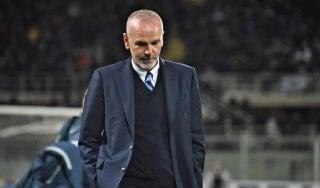 """Inter, Pioli: """"Black out inspiegabile, abbiamo toccato il fondo"""""""