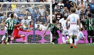Sassuolo-Napoli 2-2, Milik evita la beffa agli azzurri
