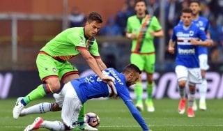 Sampdoria-Crotone 1-2, Falcinelli e Simy ribaltano i blucerchiati
