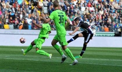 Entra Perica, l'Udinese vince   foto   Al Cagliari non basta Borriello