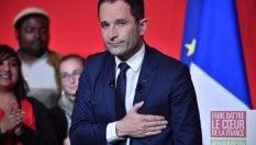 """Hamon: """"Sconfitta storica""""· Fillon: """"Perso per colpa mia, ora contro Le Pen"""""""