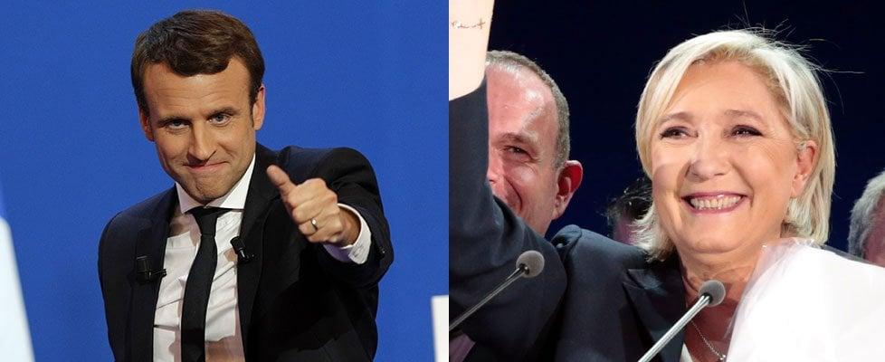"""Elezioni Francia, Macron-Le Pen al ballottaggio. I gollisti e i socialisti: """"Voteremo contro Marine"""""""