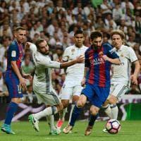 Real Madrid-Barcellona, il film della partita
