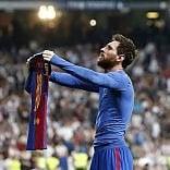 Segna Messi all'ultimo secondo Clasico spettacolo al Barça   ft