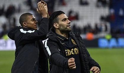 Monaco, i soliti Falcao e Mbappé Lione espugnata e testa della Ligue 1