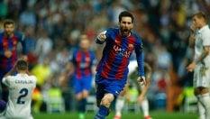Real-Barcellona 2-3: Clasico deciso da Messi all'ultimo secondo