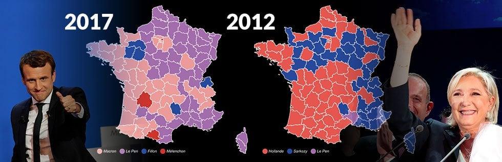 Per l'Eliseo sarà ballottaggio Macron-Le Penspoglio e risultatiSocialisti e gollisti appoggiano Macron. Mai tanti voti alla destra