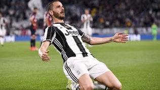 Juventus, lo scudetto è più vicino: Genoa travolto 4-0 · I golIl Milan cade in casa.Napoli pari: 2-2 col Sassuolo