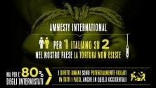 Per un italiano su due la tortura non esiste: l'indagine choc di Doxa e Amnesty International