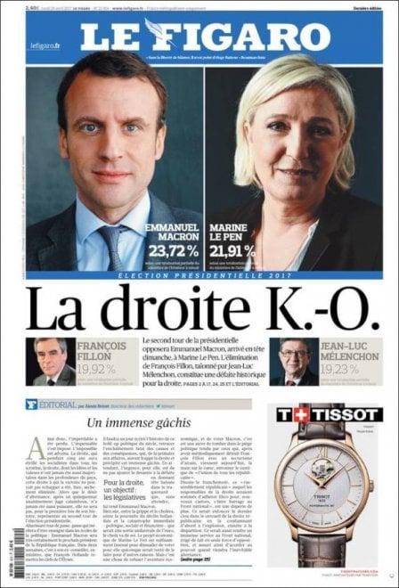 Elezioni in Francia: le prime pagine dei quotidiani internazionali