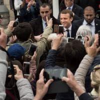 L'euro si rafforza dopo il voto in Francia. Borse in netto rialzo, crollano gli spread