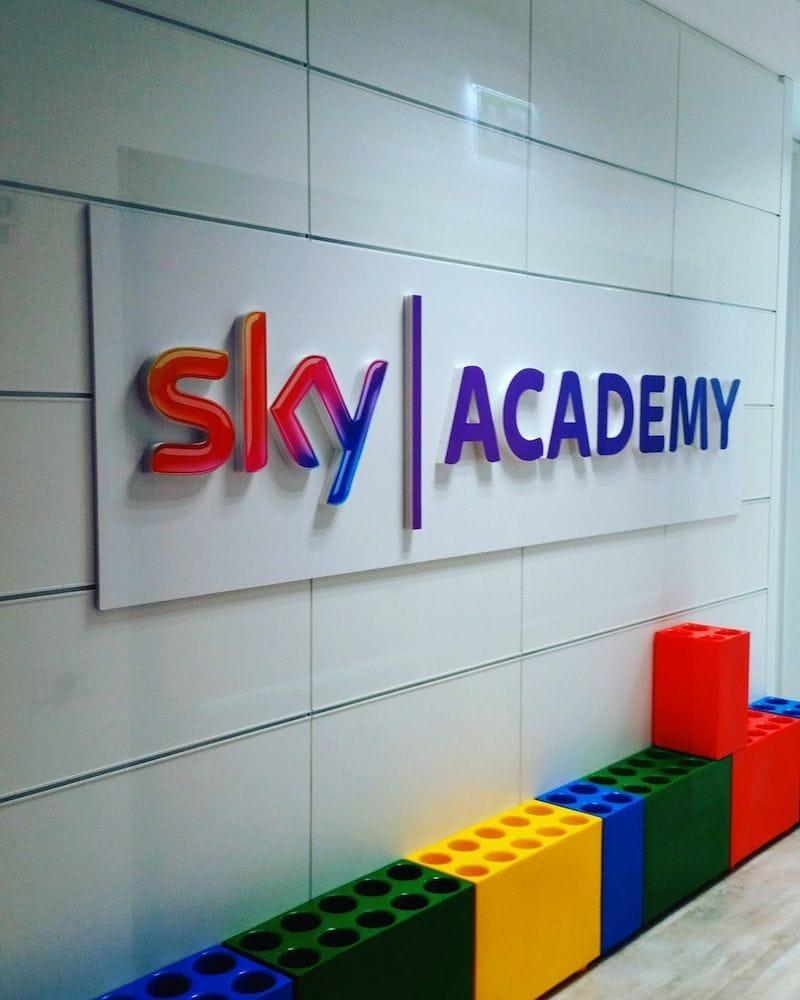 La Sky Academy, sede della prima sperimentazione italiana di Educational factchecking
