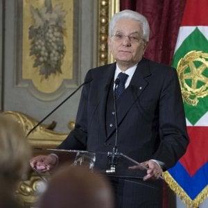 Mattarella firma il decreto con la manovra for Decreto presidente della repubblica