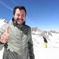"""Matteo Salvini: """"Una lezione ai moderatini, Le Pen vince con gli operai, ora sono pronto..."""