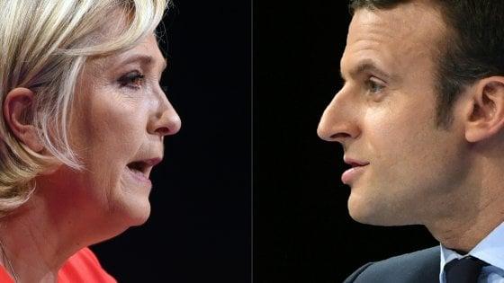 Elezioni Francia: leader Ue si schierano con Macron, a favore di Le Pen i nazionalisti
