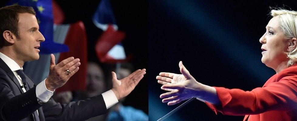 """Elezioni Francia, il giorno dopo: per Macron applausi da star, Le Pen al mercato: """"Il fronte repubblicano che lo vota è marcio"""""""