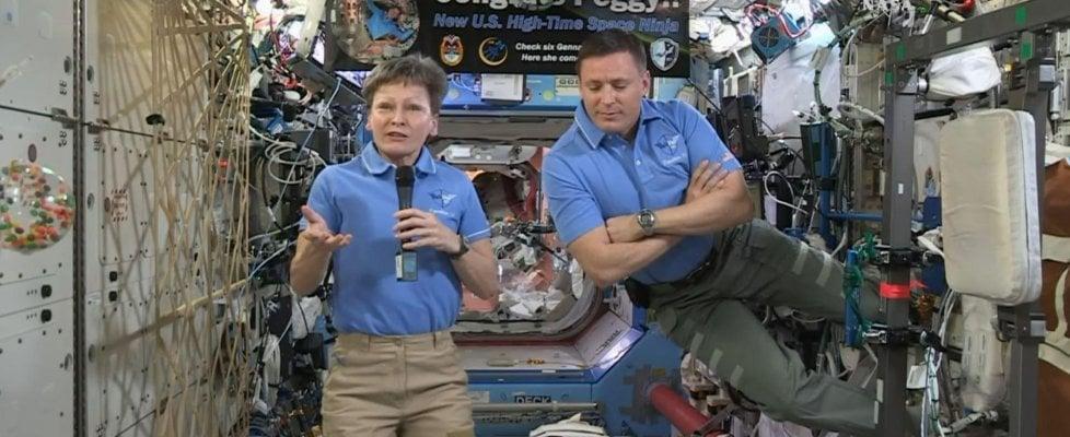 Per astronauta Peggy Whitson il record permanenza nello spazio
